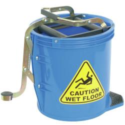 Italplast Mop Bucket Heavy Duty 16 Litres Blue