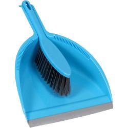 Cleanlink Dustpan & Brush Set Blue