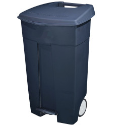 Compass Wheelie Bin with Pedal Grey 120 Litres