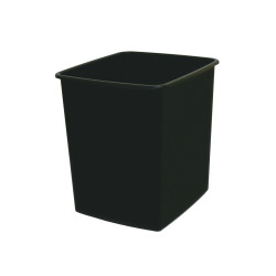 Italplast Waste Bin Fire Retardant 15 Litres Black