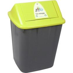 Italplast Waste Separation Bin Co-Mingle 32 Litres