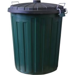 Italplast Garbage Bin 75 Litres Green