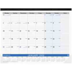 Debden Table Top Planner Month To View 420X594mm Navy