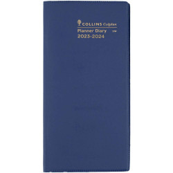 Collins Colplan Planner Month To View 176X88mm 2 Years Blue