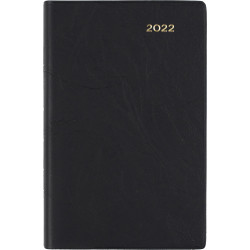Collins Belmont Pocket Diary Day To Page B7R Black