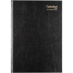 Cumberland Classic Diary 2 Pages To A Day A4 Black