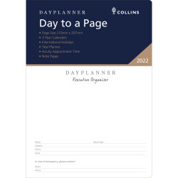 Debden Dayplanner Refill Day To A Page A4