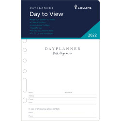 Debden Dayplanner Refill 2 Pages To A Day 140X216mm