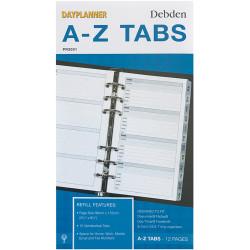 Debden Dayplanner Refill A-Z Tabs 96X172Mm