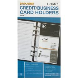 Debden Dayplanner Refill Credit Card Holder 96X172Mm