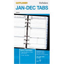 Debden Dayplanner Refill Jan-Dec Tabs 96X175Mm Personal