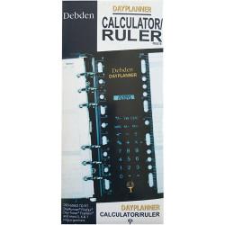 Debden Dayplanner Refill Calculator Ruler 96X172Mm Personal