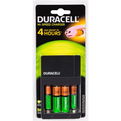 Duracell Battery Charger All-In-One Rechargeable AA/AAA