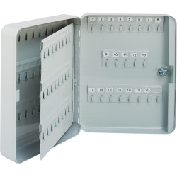 ESSELTE KEY CABINETS 93 Keys 300 x 240 x 75mm Grey