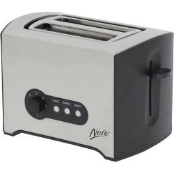 Nero 2 Slice Toaster Stainless Steel