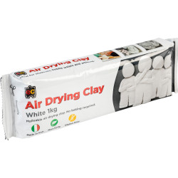 Edvantage Air Drying Clay 1kg White