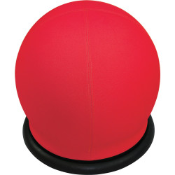 Swizzle Breakout Ottoman Ball Shape Active Seating Red