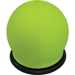 Swizzle Breakout Ottoman Ball Shape Active Seating Green