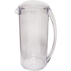 Connoisseur Plastic Water Jug with Lid 2 Litres