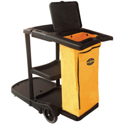 Compass Janitors Cart  with Lid