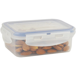 Italplast Air Lock Food Container 350ml Clear