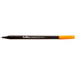 Artline Supreme Fineliner Pen 0.4mm Orange Pack Of 12
