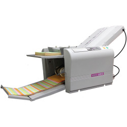 Superfax MP460 A3 Paper Folding Machine Auto Set Up & Programmed Types