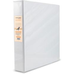 BIBBULMUN A4 INSERT BINDER 4D 50mm White