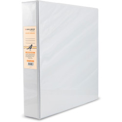 Bibbulmun Insert Binder A4 2D Ring 50mm White