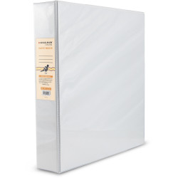 Bibbulmun Insert Binder A4 3D Ring 38mm White