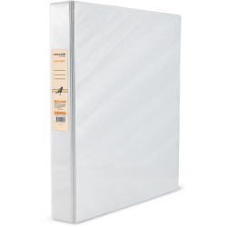 Bibbulmun Insert Binder A4 3D Ring 25mm White