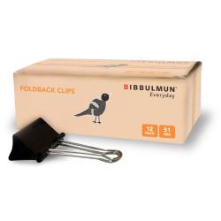Bibbulmun Foldback Clip 51mm Box of 12
