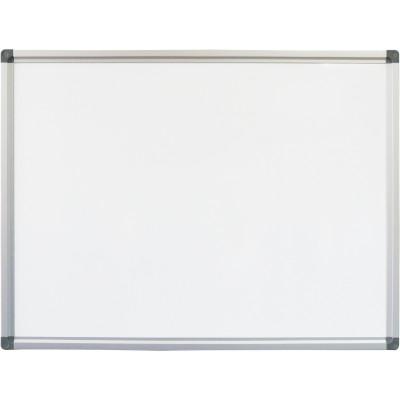 Rapidline Standard Whiteboard 2400x1200mm Aluminium Frame
