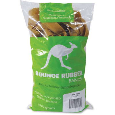 Bounce Rubber Bands Size 106 Bag 500gm