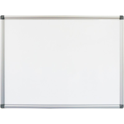 Rapidline Standard Whiteboard 1800x900mm Aluminium Frame