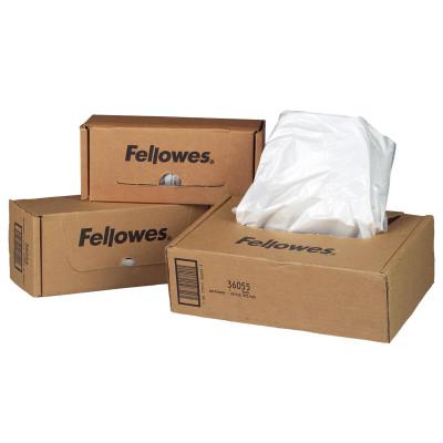 Fellowes Powershred Waste Bags Fits 125 & 225 Series Shredders Pack of 50