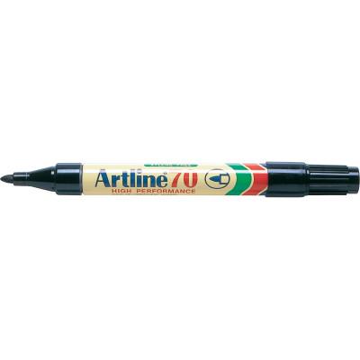 Artline 70 Permanent Marker Bullet 1.5mm Black
