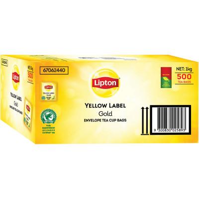 Lipton Yellow Label Tea Bags Enveloped Pack of 500