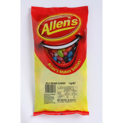 Allen's Jelly Beans 1kg Pack