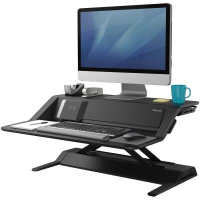 Fellowes Lotus DX Sit Stand Workstation Black